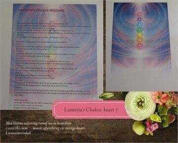 Kaart 7 Lumeria's Chakra Kaart