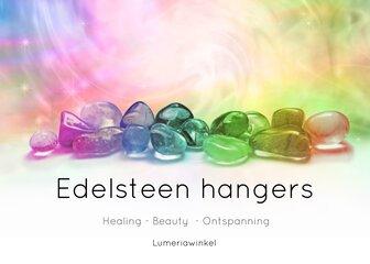 Edelsteen hangers
