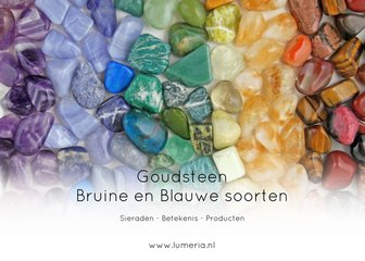 Goudsteen Blauwe en Bruine