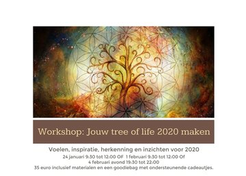 Workshop: Jouw tree of life 2020 maken