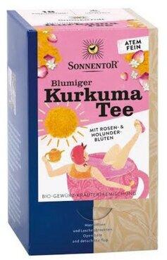 Sonnentor Bloemige kurkuma thee