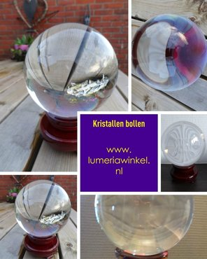 Kristallen bol 15 cm