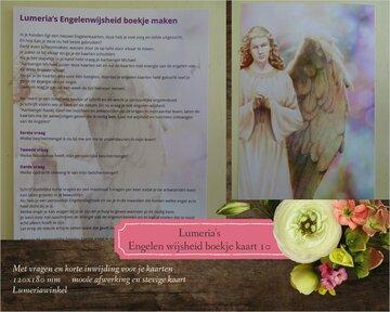 Kaart 10 Lumeria's engelen wijsheidboekje maken