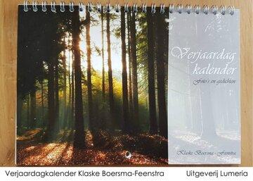 Verjaardagkalender Klaske Boersma-Feenstra