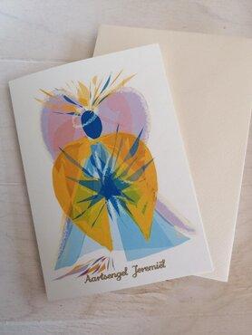 Aartsengel Jeremiel kaart set van 5