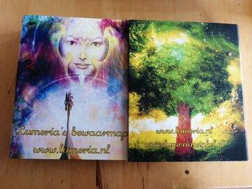 Bewaarmap Lumeria voor magazine en ritueel boekje