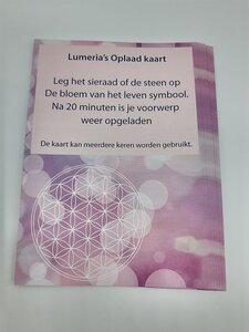 Lumeria's oplaad kaart