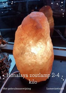 Esspo Himalaya zoutlamp 2-4 kilo