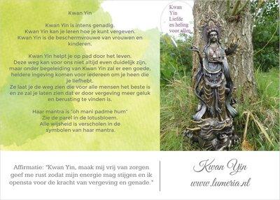 Kwan Yin Energie kaartje
