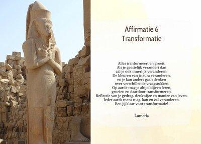 Affirmatie 6 Transformatie