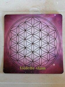 Kaart Violette Vlam Bloem van het leven Waterkaart